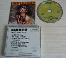 CD ALBUM SHE'S STRANGE - CAMEO 7 TITRES 1984 MADE IN GERMANY