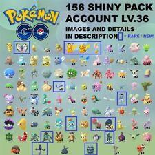 Pokémon Go Account SHINY x156✨ HALLOWEEN PIPLUP PIKA YAMASK BLITZLE SPINARAK