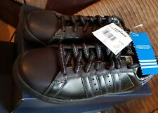 Adidas Century Lo 2006 black vintage uk 7 bnib superstar RARE UNUSED trainers