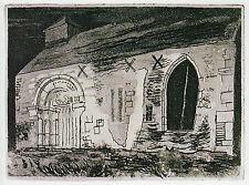 Yatton Chapel, Herefordshire, John Piper print in 10 x 12 inch mount