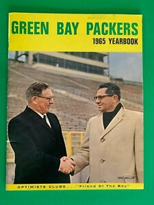 1965 Green Bay Packers Yearbook-Rare Optimist Club Edition