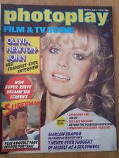 OLIVIA NEWTON-JOHN  Farrah Fawcett-Majors 1979 UK magazine