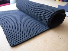 Spacer fabric, 100% Polyester, TF 105,  Double Sided Mesh, Black, 1 metre, Soft
