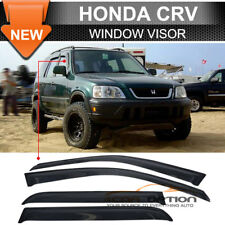 For 98-01 Honda CRV Acrylic Window Visors 4Pc Set