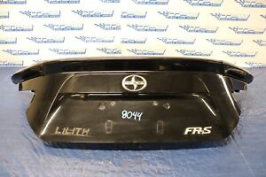 2016 TOYOTA SCION FR-S 4UGSE OEM REAR TRUNK LID COVER W SPOILER WING #8044