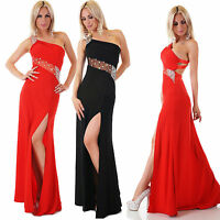 NEW Women's Elegant Black Maxi Gown Evening Dress Cocktail Dress Open Back