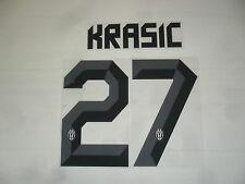 FW14 27 Krasic Name Number Official Name Set T-Shirt Away Shirt Jersey