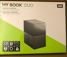 Western Digital My Book Duo 28TB (2 x 14TB WD RED) ext Festplatte NEU+VERSIEGELT