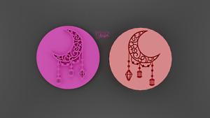Islamic lantern moon embosser,cookie stamp,Islamic stamp,Ramadan cookie stamp