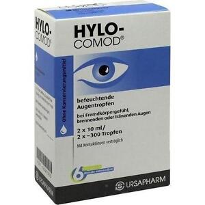 HYLO-COMOD Augentropfen 2X10ml PZN 4047553