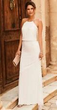 Lily Embellished Maxi Bridal Dress Wedding Dress Ivory New Size 20 Plus Size