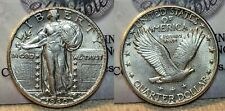 1930 P Standing Liberty Quarter 25c AU Looks Full Head