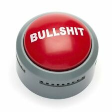 Button Electronic Funny Bullshit Novelty Prank Buzzer Gag Gift Supply Statement