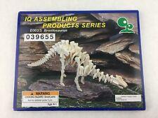 Iq Products Brontosaurus Dinosaur Balsa Wood Model Diy Project Kit