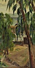 Theodore Wores (American,1859-1939) Original Oil Painting Major Californa Artist