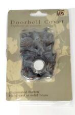 Doorbell Cover Shells Starfish Snail Illuminated Figi Hand Cast In Solid Brass