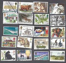 United Kingdom - Twenty Different Used Stamps (C)
