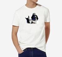 Tee shirt Star Wars Dark Vador for man 100% cotton original men fashion style HQ