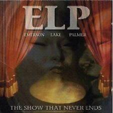 Emerson Lake & Palmer The Show That Never Ends Live 2-CD NEW SEALED ELP Prog