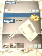 More details for bifinett electric hand food mixer kh 203 - 230w- food whisker- turbo- bnib