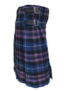 Pride of Scotland 8 Yard Kilts Scottish Men Kilts 16oz, Casual Tartan Kilt