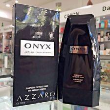 AZZARO ONYX POUR HOMME HAIR AND BODY SHAMPOO 150 ML