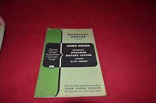 John Deere P-107 Gyramor Brush Hog Rotary Cutter Operator's Manual DCPA5