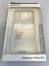 Griffin Reveal Case for Samsung Galaxy S5 (White/Clear)