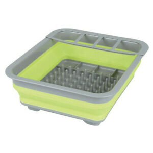 High Quality Pop-up Dish Tray & Tub Removable 4 Slot Utensil Holder Studded Base