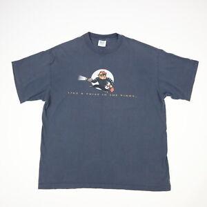 Vtg 90s Christian Religious TShirt Faded Single Stitch USA Thief in the Night XL