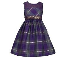 Bonnie Jean Purple Sequin Girls Dress xmas UK 12 yrs (US14)NWT LAST ONE