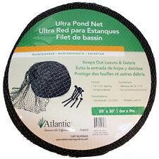 Atlantic Ultra Pond 20' x 30' Netting Leaf and Fish Net PN2030