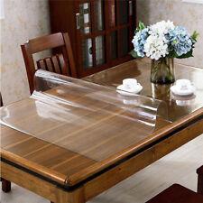 "Clear PVC Table Cover Mat Protector Non-Slip Desk Pad Desk Mat 20""x36"""