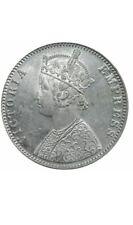 1901 India One Rupee, Victoria, British Empire silver coins, AU+/UNC