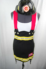 Backdraft Babe Leg Avenue Sexy Firefighter Costume with Accessories Small NIP