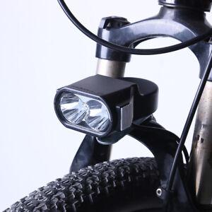 E-Bike LED Headlight 36V 48V 60V Electric Bicycle Scooter Horn Front Light Lamp
