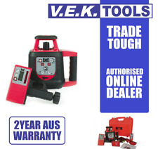 TUF RED Beam Construction Line Laser Level Rechargeable Kit-PLS-2YR AUSWNTY
