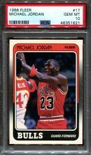 1988 Fleer Michael Jordan #17 PSA 10