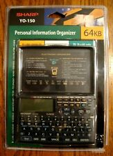 Vintage SHARP Personal Information Organizer PDA, YO-150, 64 KB, Sealed New