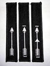"""Order of the Arrow Black/White Ordeal Brotherhood Vigil Honor 4.5"""" OA Dangle Set"""