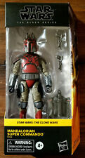STAR WARS BLACK SERIES MANDALORIAN SUPER COMMANDO 6? FIGURE (Walmart Exclusive)