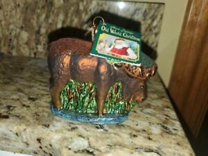 Old World Christmas Ornament - Moose