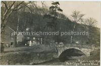 Sheffield, Rivelin The Bridge Roscoe Wheel Real Photo Postcard, C025