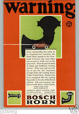 1926 PAPER AD Bosch Car Automobile Horn Magneto Corp COLOR FORD Ignition