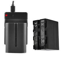 Ladegerät + Akku für SONY NP-F970 NP-F960 F950 DCR-VX2100 HDR-FX1