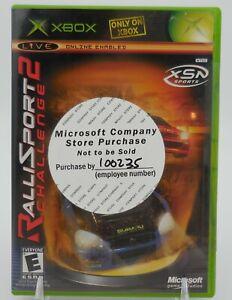 RALLISPORT CHALLENGE 2 (Microsoft Xbox, 2004) Brand NEW & Sealed!