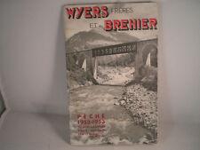 Vintage WYERS FRERES et BREHIER publicité pêche catalogue SAISON 1952/53