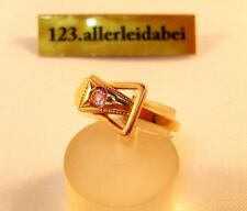 Wow reizender russischer Spinell Ring 583 Rotgold Gold / BF 263