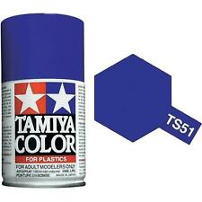 Tamiya TS-51 Racing Blue Spray Paint Can  3.35 oz. (100ml) 85051