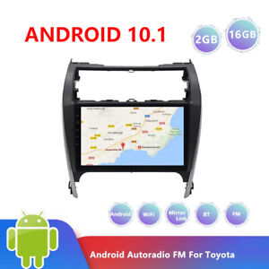 Android 10.1 Car Radio Stereo MP5 Player GPS Navigation BT For Toyota Camry